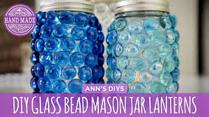 Decorative Things To Put In Glass Jars DIY Glass Bead Mason Jar Lanterns HGTV Handmade YouTube 47