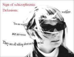 schizophrenia helthhamster com delusions people are watching