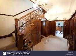 dark mahogany furniture. Dark Mahogany Furniture. Deep Wood Paneled Hallway Stairs  Furniture Q H
