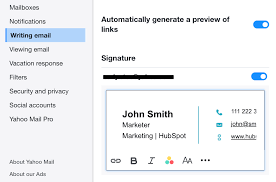 Email Signature Free Email Signature Template Generator By Hubspot