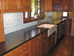 How To Install Kitchen Tile Extraordinary How To Install Glass Subway Tile Backsplash Photo