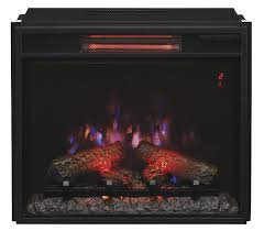 23 74 classic flame fixed glass spectrafire infrared quartz electric fireplace insert