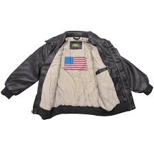 landing leathers big boys air force a 2 faux leather flight er jacket 2