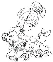 Free Coloring Pages Oriental Trading Good Easter Printable Fr