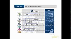 Sap Sd Organizational Structure Flow Chart Video 5 Organizational Structure In Sap