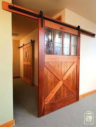 hanging sliding door hardware horseshoe flat track hardware kit sliding barn