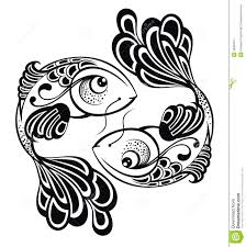 Pisces Drawing Design Amazing Pisces Zodiac Sign Tattoo Design