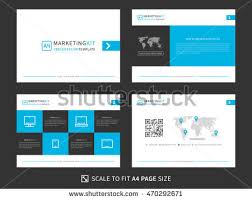 powerpoint company presentation corporate presentation vector template modern powerpoint stock photo