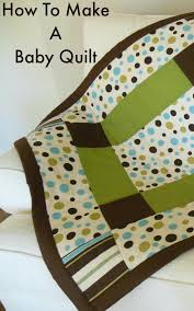 Baby Quilts To Make – co-nnect.me & ... Make Easy Baby Quilt In A Day How To Make A Baby Quilt Sewing Tutorial  Baby ... Adamdwight.com