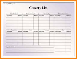 Free Printable Blank Grocery List 7 Free Printable Blank Grocery List St Columbaretreat House