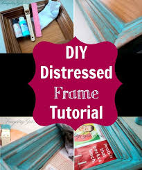 how to create a vintage picture frame with a dry brush technique by thepinningmama com crafts style pictures vintage and vintage