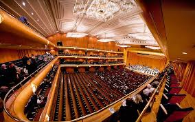 Abravanel Hall Interior In Downtown Salt Lake City By