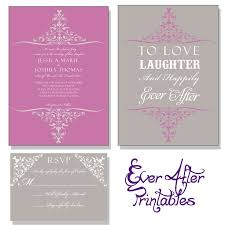 104 best disney wedding invites images on pinterest disney Purple Disney Wedding Invitations love laughter and happily ever after disney inspired wedding invitation $20 00, via etsy Elegant Wedding Invitations