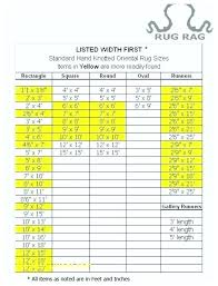 standard area rug sizes rugs size awesome oriental non si