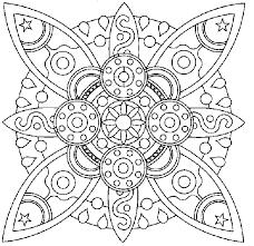 Mandala Disegno Da Colorare Gratis 2 Difficile Complesso Disegni