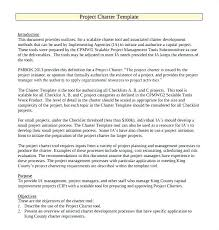 project charter construction capital improvement plan template 9 project charter templates sample