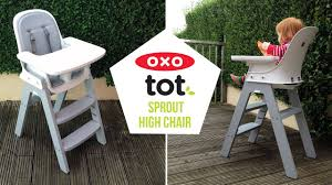 oxo tot sprout. Perfect Oxo OXO Tot Sprout High Chair Video Demonstration Baby Mode  Cleaning  A Mum  Reviews On Oxo T