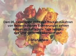 Sprüche Zum 85 Geburtstag Geburtstagswünsche Zum 85