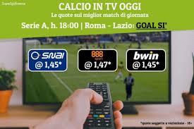 Calcio in tv oggi: le partite in diretta stasera ...