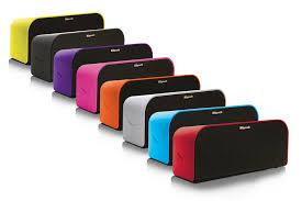 klipsch bluetooth speakers. klipsch kmc-3 bluetooth speaker ( black only ) speakers 6
