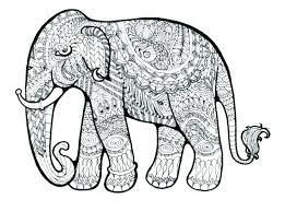 Free Elephant Coloring Pages Free Elephant Coloring Pages Elephant
