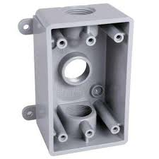 surface mount conduit. Brilliant Surface 1Gang Weatherproof Box Three 12 In Or 34 In And Surface Mount Conduit