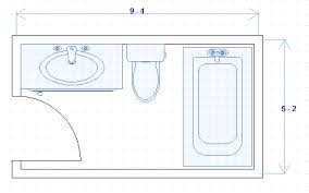 Small Bathroom Floor Plans X