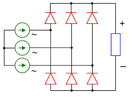 3 phase bridge rectifier circuit diagram wirdig image three phase full wave bridge rectifier pc android