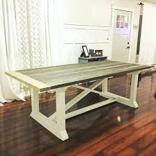 farm kitchen table plans best dining room tutorials images on furniture inside white farmhouse table ideas