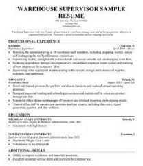 ideas of logistics supervisor resume samples for your resume sample - Logistics  Resume Sample
