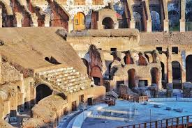 Seating In The Colosseum Colosseum Rome Tickets
