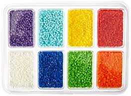 Mini Perler Bead Patterns Magnificent Amazon Perler Beads 4848 Mini Beads Tray Rainbow Arts
