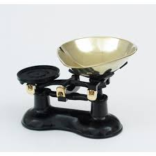 Small Picture Antique Kitchen Scale Black with Brass Scoop Kitchen Scales