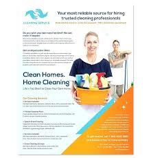 Cleaning Advertising Ideas Cleaning Service Flyer Ideas Mediaschool Info