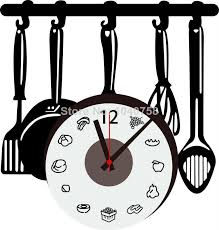 large wall clock kitchen decal knives home decoration wall sticker kitchen clock on the wall art decorative wall decal kid clock wall paper full wall mural