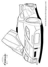 Free Ferrari Coloring Pages Book For Kids Boyscom Coloring Pages