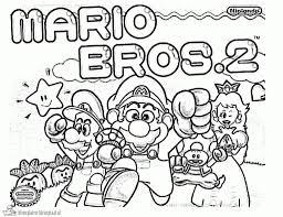Kleurplaten Super Mario Kleurplaten Kleurplaatnl Within Super