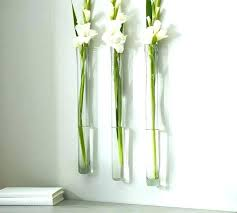 glass wall vases vase decor wonderful pocket