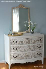 image stencils furniture painting. paint and stencil a pretty dresser is 10 easy steps painted furniture stencils from image painting