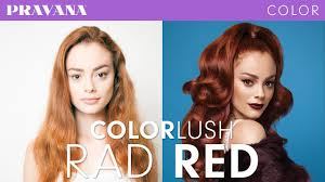 How To Rad Red Demi Permanent Hair Color With Colorlush