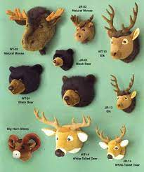 stuffed animal wall mount nursery off