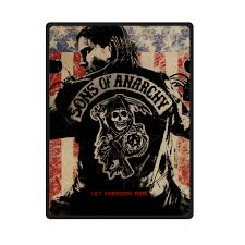 Sons Of Anarchy Throw Blanket