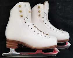 Jackson Elle Ice Skates Model 2131 Size 12b With Mirage Blade