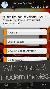 Quotes quiz Movie Quotes Quiz Game Trivia Game with the best and most 36