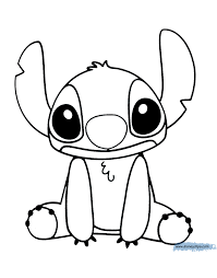 Lilo And Stitch Coloring Pages Disneyclipscom
