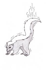 Small Picture Free Printable Skunk Coloring Pages For Kids