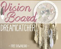 Hobby Lobby Dream Catcher Inspirational Dream Catcher Vision Board Combined Hometalk 88