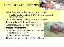 Fetal Growth Patterns How To Improve The Antenatal