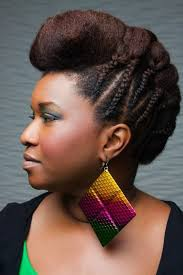 Photo Coiffure De Cheveux Afro Femme Coiffure Cheveux Long