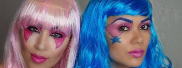 halloween makeup how to jem the holograms
